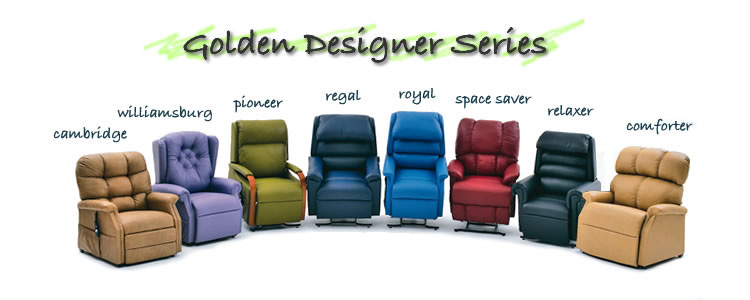 Lift chairs - Golden Designer Series